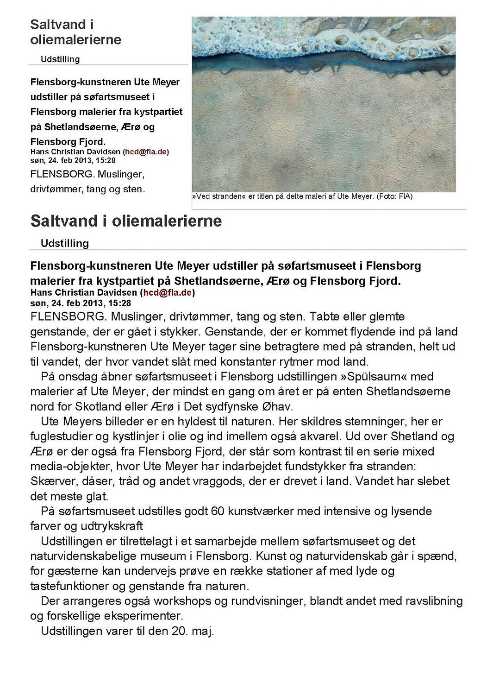 Schifffahrtsmuseum Flensburg 2013,