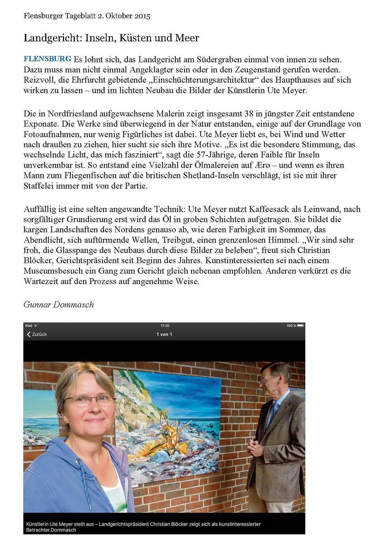 Landgericht Flensburg 2015