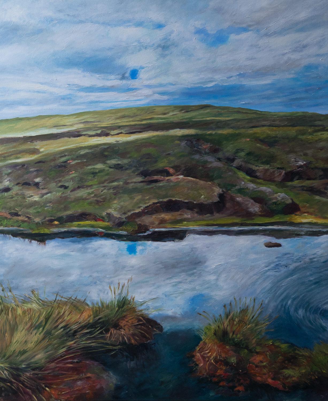 Ölgemälde, Shetland