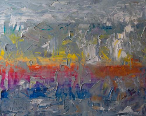 Ölgemälde, abstrakt