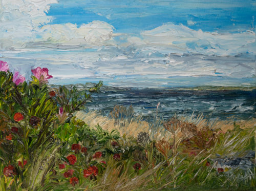 Ute Meyer Malerei • Oil Paintings, watercolor • Öl Gemälde, Aquarelle 152