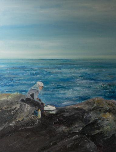 Ute Meyer Malerei • Oil Paintings, watercolor • Öl Gemälde, Aquarelle 148