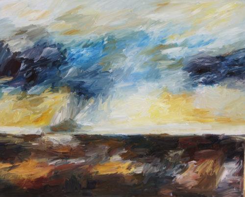 Ute Meyer Malerei • Oil Paintings, watercolor • Öl Gemälde, Aquarelle 123