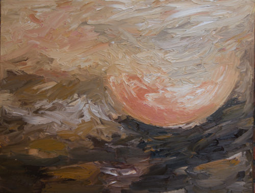 Ute Meyer Malerei • Oil Paintings, watercolor • Öl Gemälde, Aquarelle 133