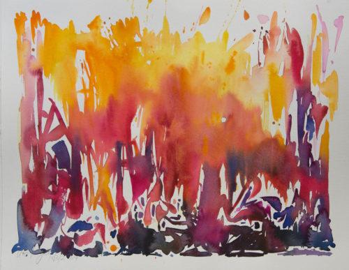 Ute Meyer Malerei • Oil Paintings, watercolor • Öl Gemälde, Aquarelle 58