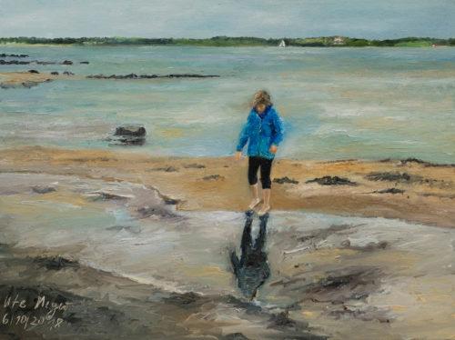 Ute Meyer Malerei • Oil Paintings, watercolor • Öl Gemälde, Aquarelle 138