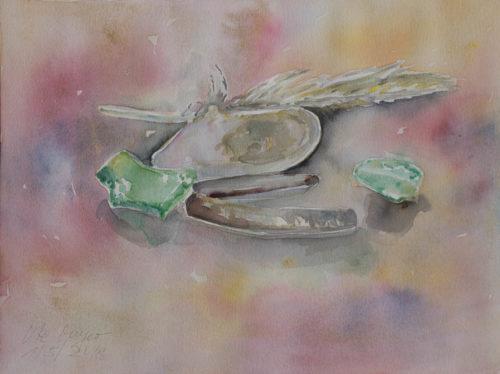 Ute Meyer Malerei • Oil Paintings, watercolor • Öl Gemälde, Aquarelle 72