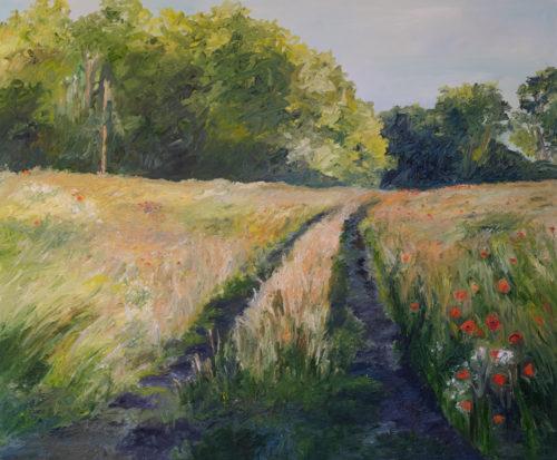 Ute Meyer Malerei • Oil Paintings, watercolor • Öl Gemälde, Aquarelle 121