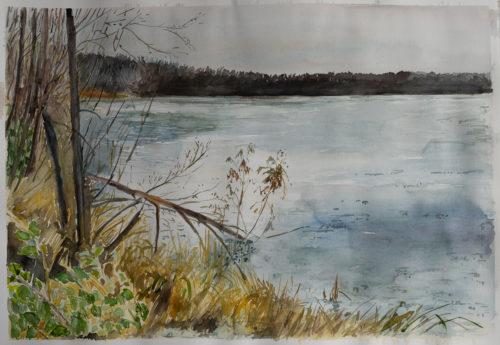 Ute Meyer Malerei • Oil Paintings, watercolor • Öl Gemälde, Aquarelle 75