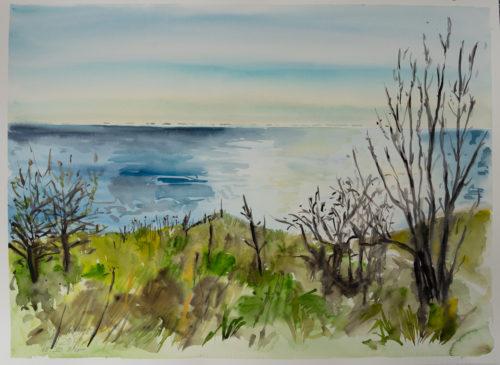 Ute Meyer Malerei • Oil Paintings, watercolor • Öl Gemälde, Aquarelle 57