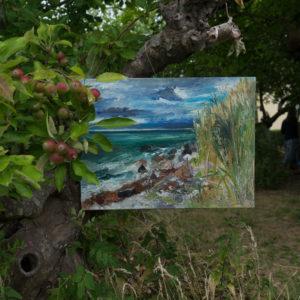 Ute Meyer Malerei • Oil Paintings, watercolor • Öl Gemälde, Aquarelle 15