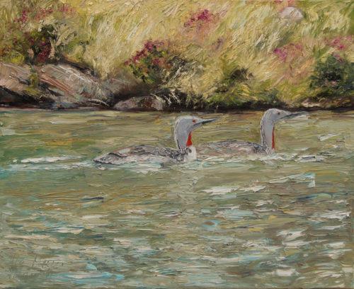 Ute Meyer Malerei • Oil Paintings, watercolor • Öl Gemälde, Aquarelle 132