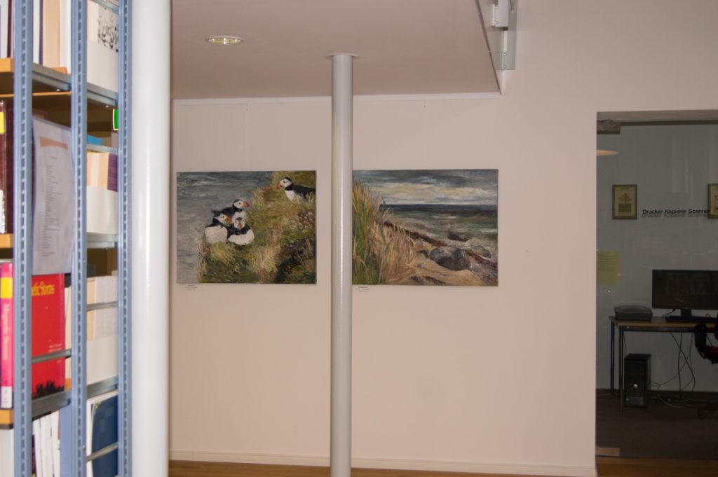 Ute Meyer Malerei • Oil Paintings, watercolor • Öl Gemälde, Aquarelle 80