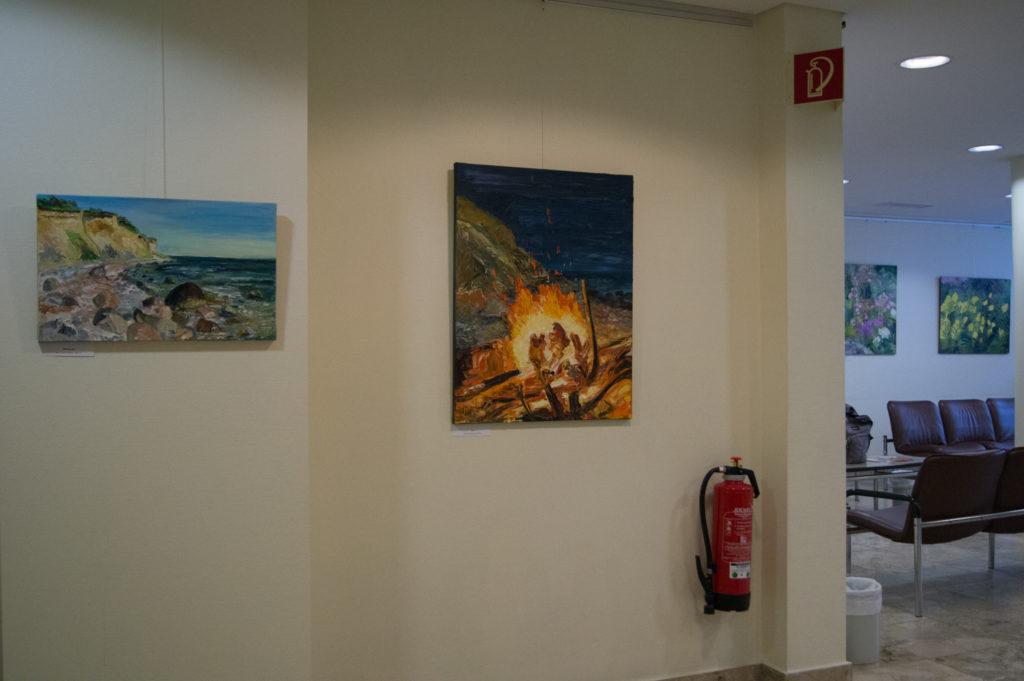 Ute Meyer Malerei • Oil Paintings, watercolor • Öl Gemälde, Aquarelle 106