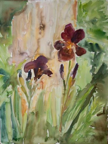 Ute Meyer Malerei • Oil Paintings, watercolor • Öl Gemälde, Aquarelle 65