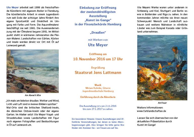 Ute Meyer Malerei • Oil Paintings, watercolor • Öl Gemälde, Aquarelle 6