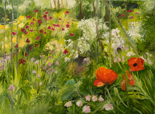 Ute Meyer Malerei • Oil Paintings, watercolor • Öl Gemälde, Aquarelle 153