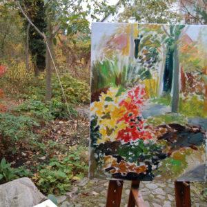 Ute Meyer Malerei • Oil Paintings, watercolor • Öl Gemälde, Aquarelle 55