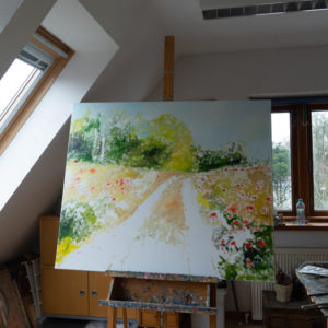 Ute Meyer Malerei • Oil Paintings, watercolor • Öl Gemälde, Aquarelle 52