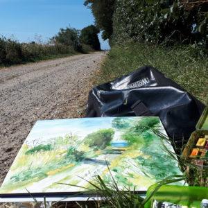 Ute Meyer Malerei • Oil Paintings, watercolor • Öl Gemälde, Aquarelle 46