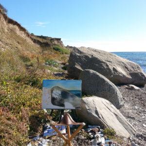 Ute Meyer Malerei • Oil Paintings, watercolor • Öl Gemälde, Aquarelle 49