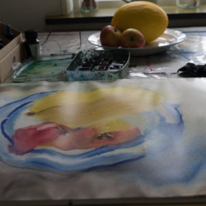 Ute Meyer Malerei • Oil Paintings, watercolor • Öl Gemälde, Aquarelle 45