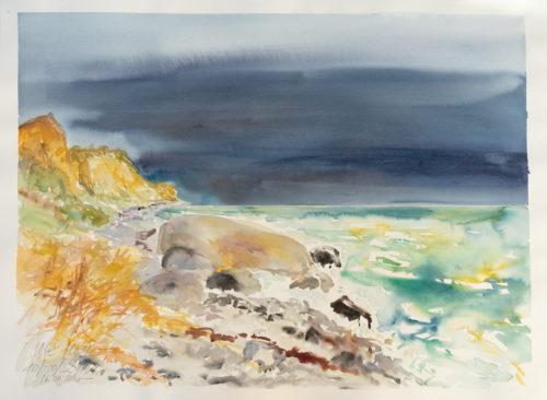 Ute Meyer Malerei • Oil Paintings, watercolor • Öl Gemälde, Aquarelle 69