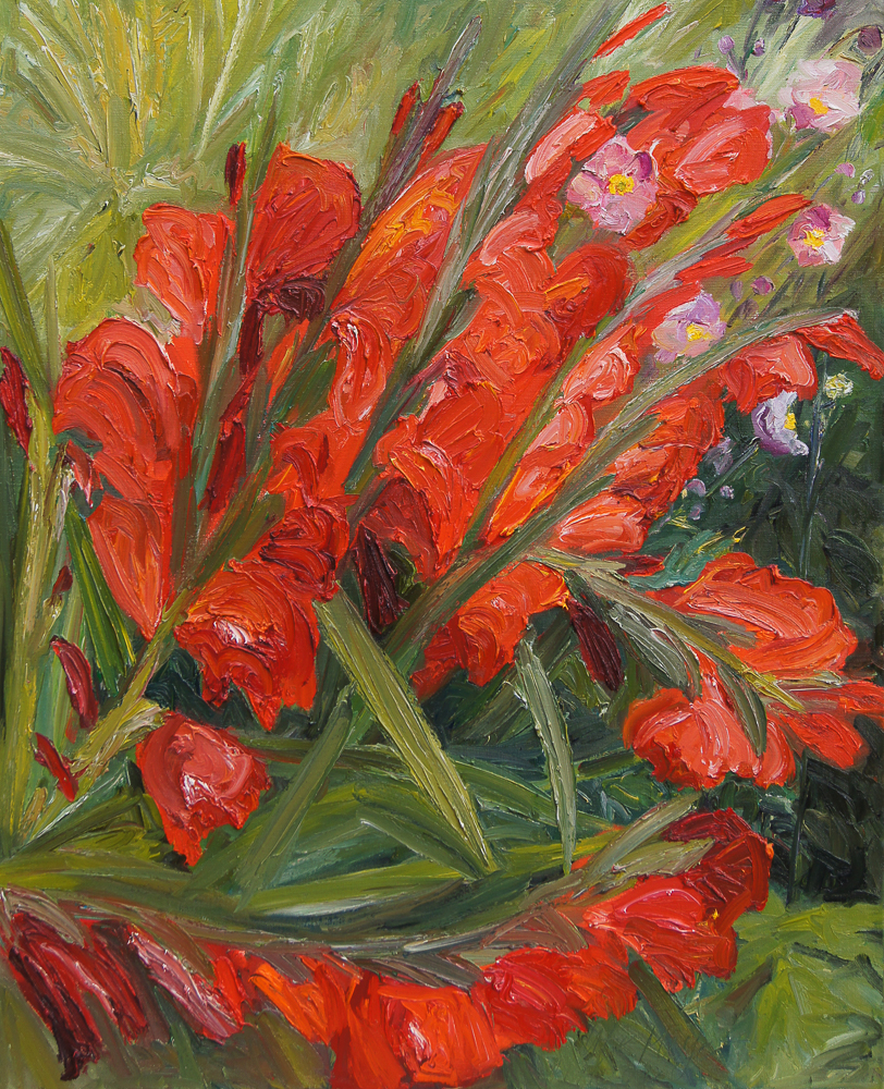 Ute Meyer Malerei • Oil Paintings, watercolor • Öl Gemälde, Aquarelle 99