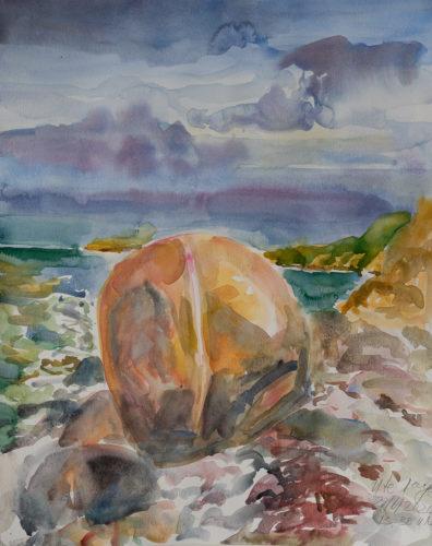 Ute Meyer Malerei • Oil Paintings, watercolor • Öl Gemälde, Aquarelle 66