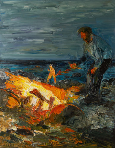 Ute Meyer Malerei • Oil Paintings, watercolor • Öl Gemälde, Aquarelle 125
