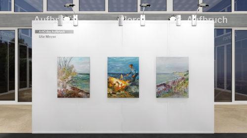 Ute Meyer Malerei • Oil Paintings, watercolor • Öl Gemälde, Aquarelle 4