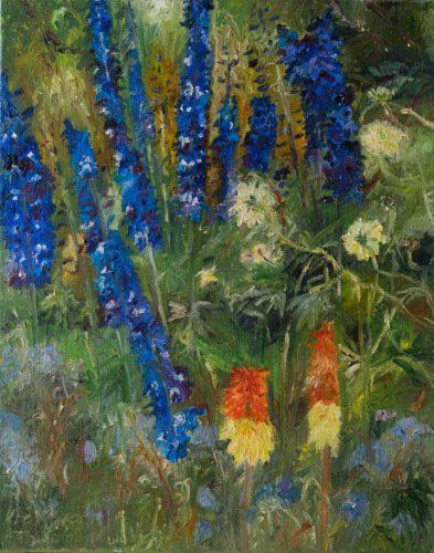 Ute Meyer Malerei • Oil Paintings, watercolor • Öl Gemälde, Aquarelle 150