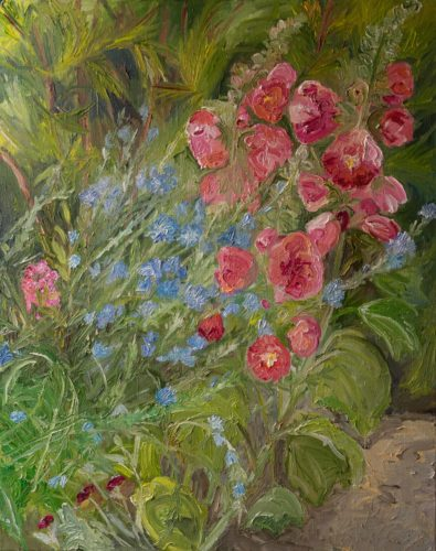 Ute Meyer Malerei • Oil Paintings, watercolor • Öl Gemälde, Aquarelle 136
