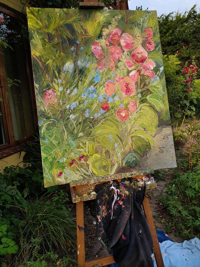 Ute Meyer Malerei • Oil Paintings, watercolor • Öl Gemälde, Aquarelle 3