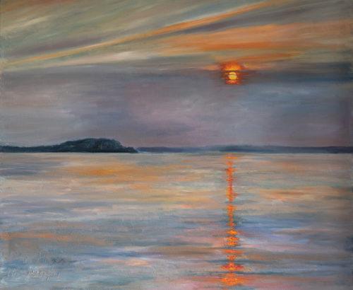 Ute Meyer Malerei • Oil Paintings, watercolor • Öl Gemälde, Aquarelle 141