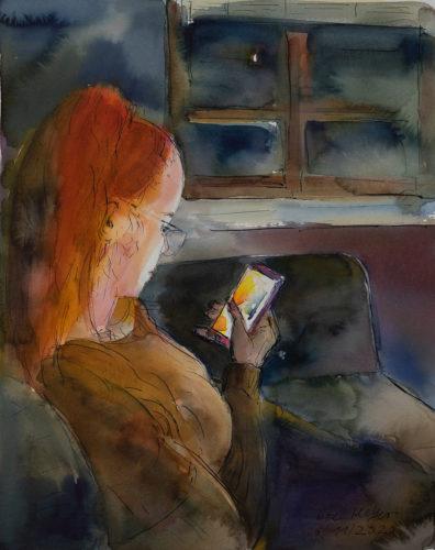 Ute Meyer Malerei • Oil Paintings, watercolor • Öl Gemälde, Aquarelle 70