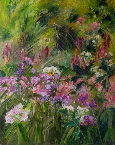 Ute Meyer Malerei • Oil Paintings, watercolor • Öl Gemälde, Aquarelle 156