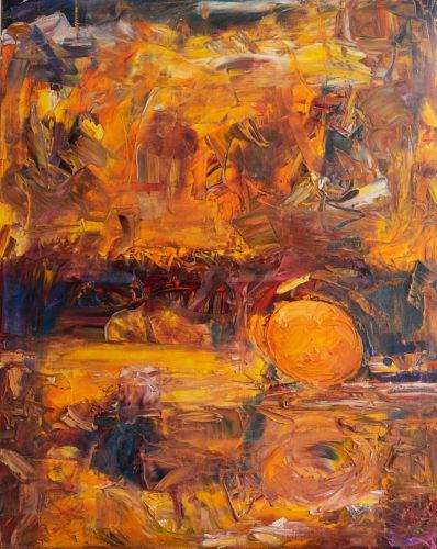 Ute Meyer Malerei • Oil Paintings, watercolor • Öl Gemälde, Aquarelle 111