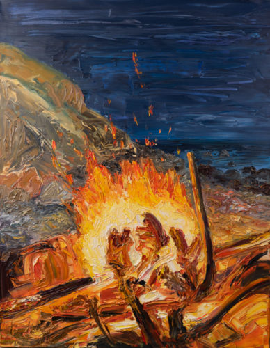 Ute Meyer Malerei • Oil Paintings, watercolor • Öl Gemälde, Aquarelle 161