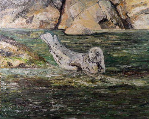 Ute Meyer Malerei • Oil Paintings, watercolor • Öl Gemälde, Aquarelle 119