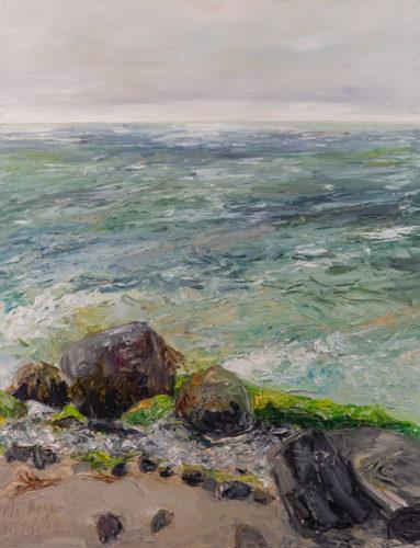 Ute Meyer Malerei • Oil Paintings, watercolor • Öl Gemälde, Aquarelle 143