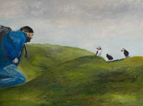 Ute Meyer Malerei • Oil Paintings, watercolor • Öl Gemälde, Aquarelle 159