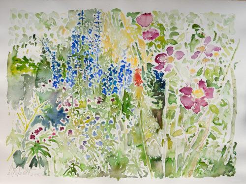 Ute Meyer Malerei • Oil Paintings, watercolor • Öl Gemälde, Aquarelle 51