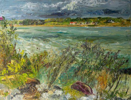 Ute Meyer Malerei • Oil Paintings, watercolor • Öl Gemälde, Aquarelle 130