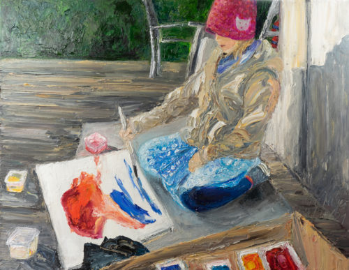 Ute Meyer Malerei • Oil Paintings, watercolor • Öl Gemälde, Aquarelle 103